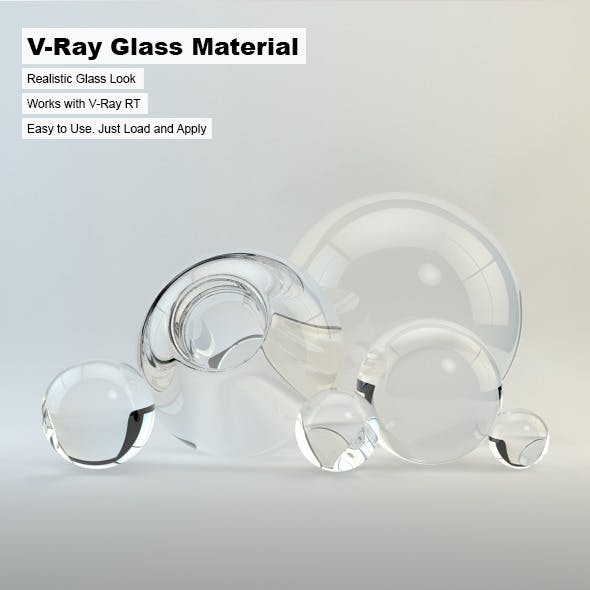 V-Ray Glass Material