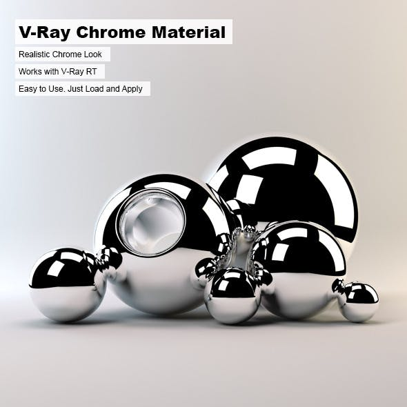 V-Ray Chrome Material