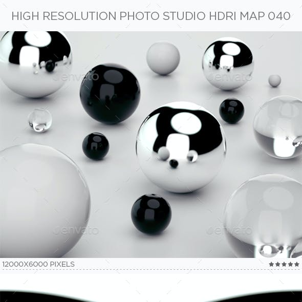 High Resolution Photo Studio HDRi Map 040