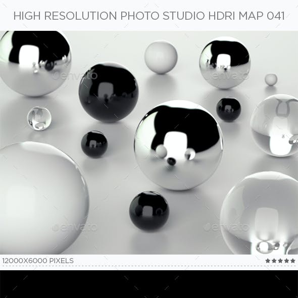 High Resolution Photo Studio HDRi Map 041