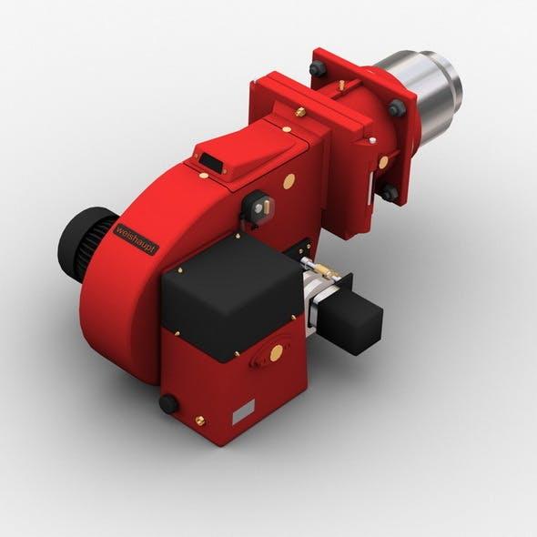 Gas Burner - 3DOcean Item for Sale
