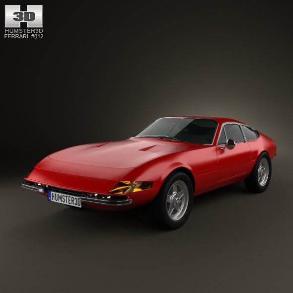 Ferrari 365 Daytona GTB/4 Daytona 1968-1973 - 3DOcean Item for Sale