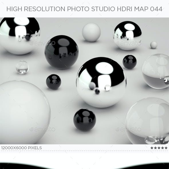 High Resolution Photo Studio HDRi Map 044