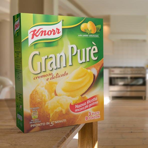 Knorr pack pureas