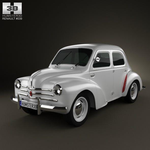 Renault 4CV sedan 1947-1961 - 3DOcean Item for Sale