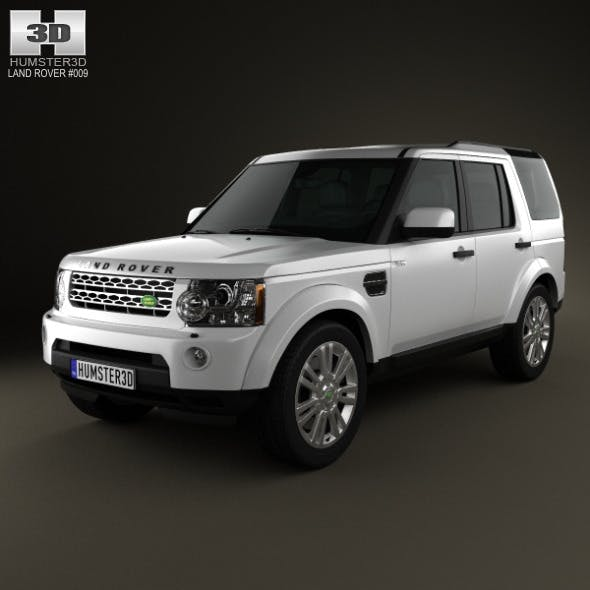 Land-Rover Discovery 4 (LR4) 2012 - 3DOcean Item for Sale