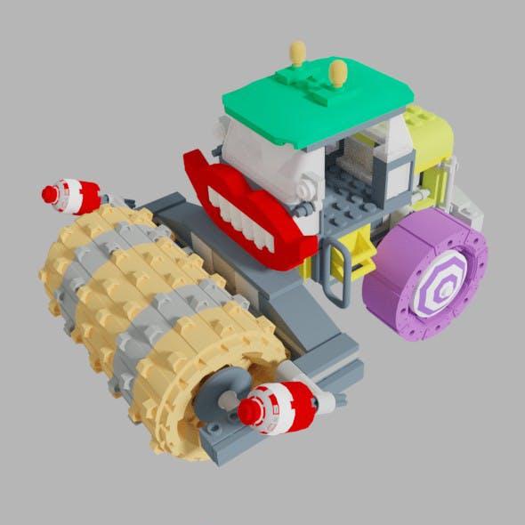 The Joker Steam Roller