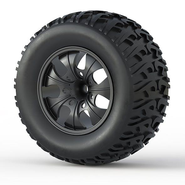 Monster Truck Wheel Toy