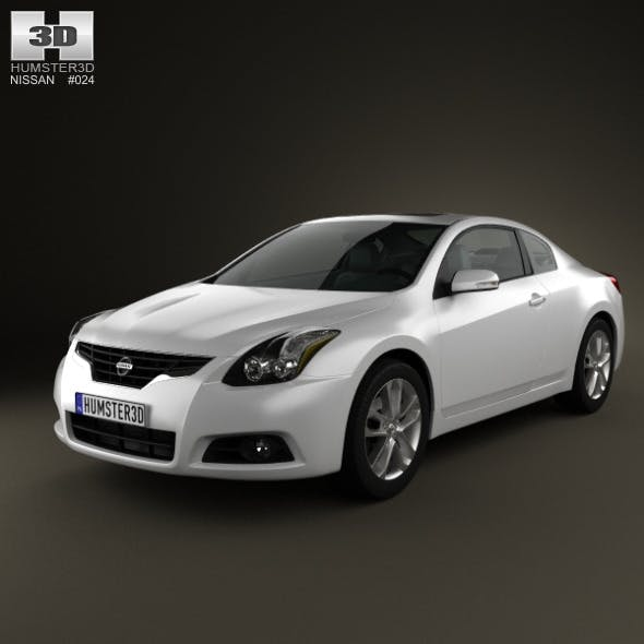 Nissan Altima coupe 2012 - 3DOcean Item for Sale