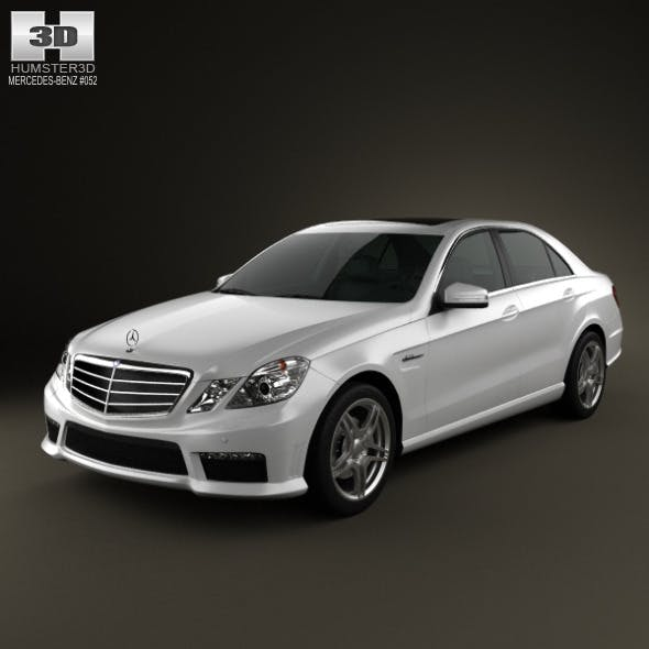 Mercedes-Benz E63 AMG (W212) sedan 2010 - 3DOcean Item for Sale