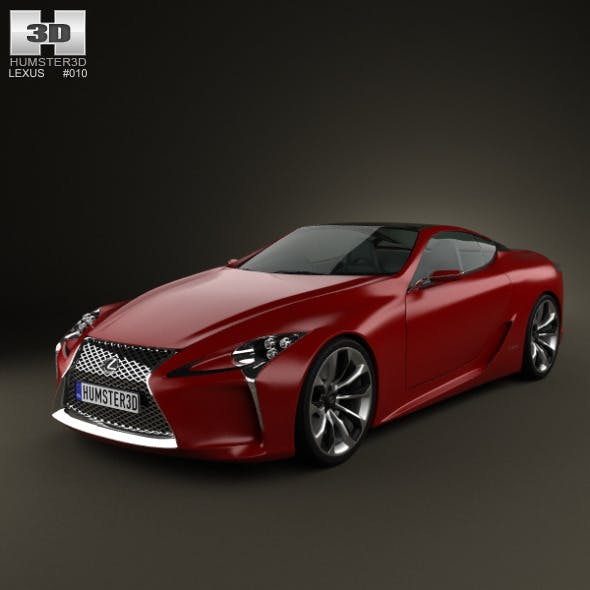 Lexus LF-LC 2012 - 3DOcean Item for Sale