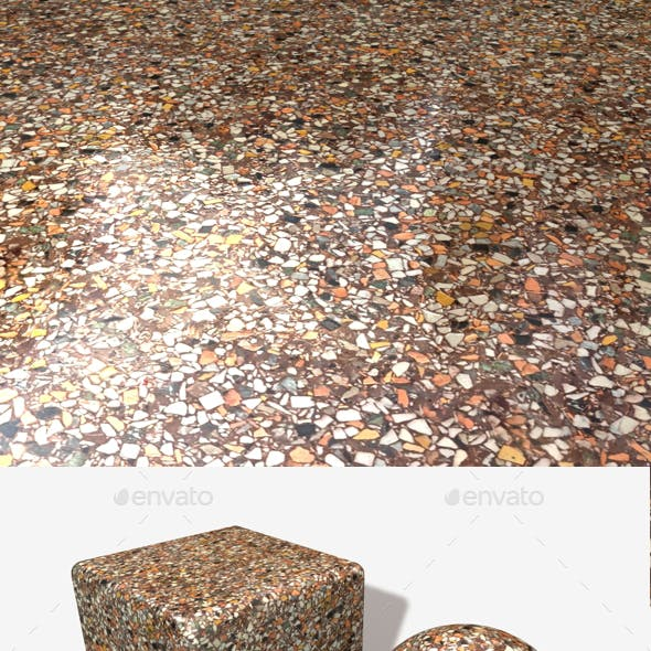 Marble Chips Seamless Texture