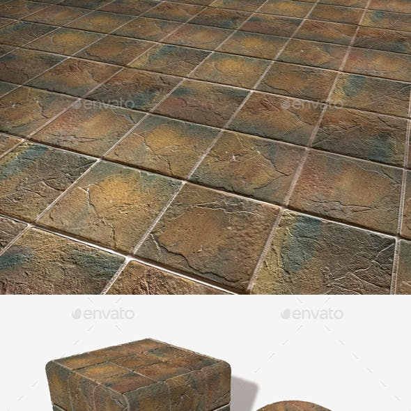 Rustic Tiles Seamless Texture