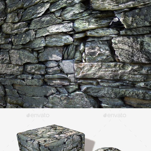 Welsh Stone Wall Seamless Texture