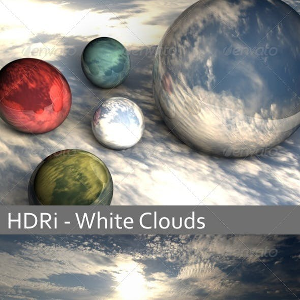 HDRi - White Clouds - 3DOcean Item for Sale