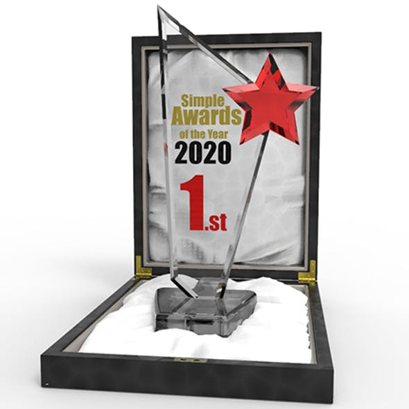 Simple Award Glass/Plexiglass