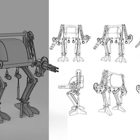 Gatling Robo