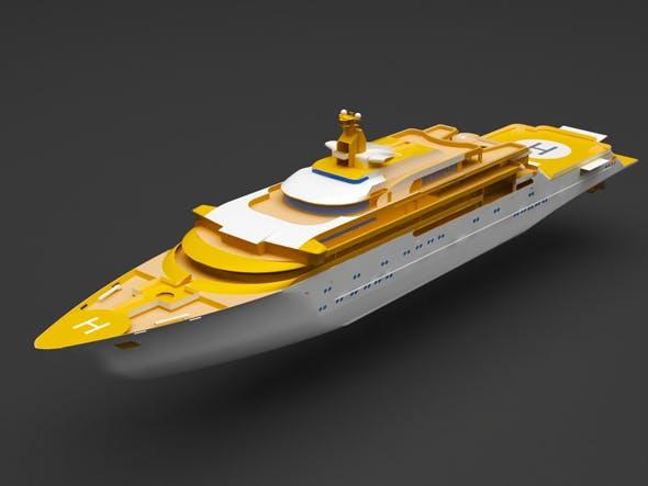 yacht - 3DOcean Item for Sale