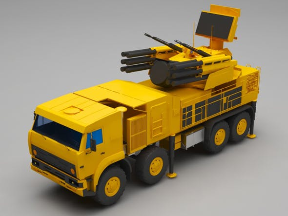 Military truck - 3DOcean Item for Sale