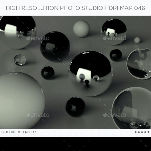 High Resolution Photo Studio HDRi Map 046