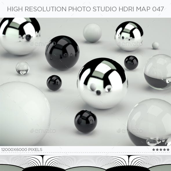High Resolution Photo Studio HDRi Map 047