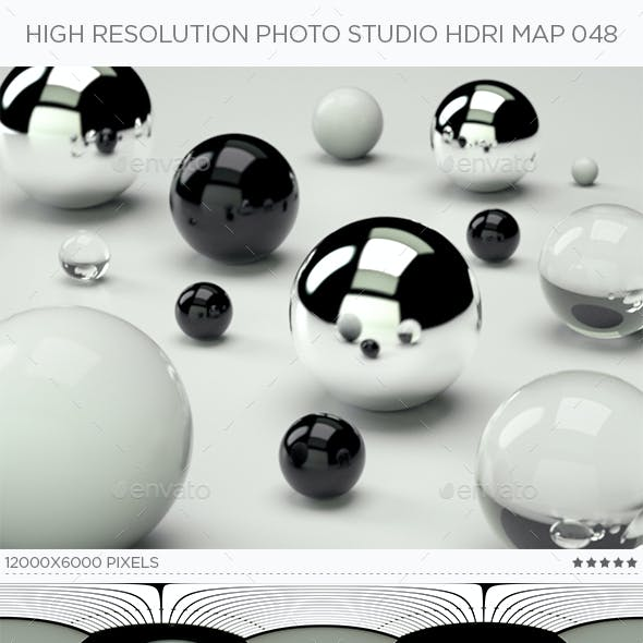 High Resolution Photo Studio HDRi Map 048
