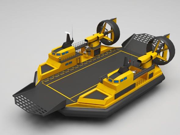 Hovercraft - 3DOcean Item for Sale