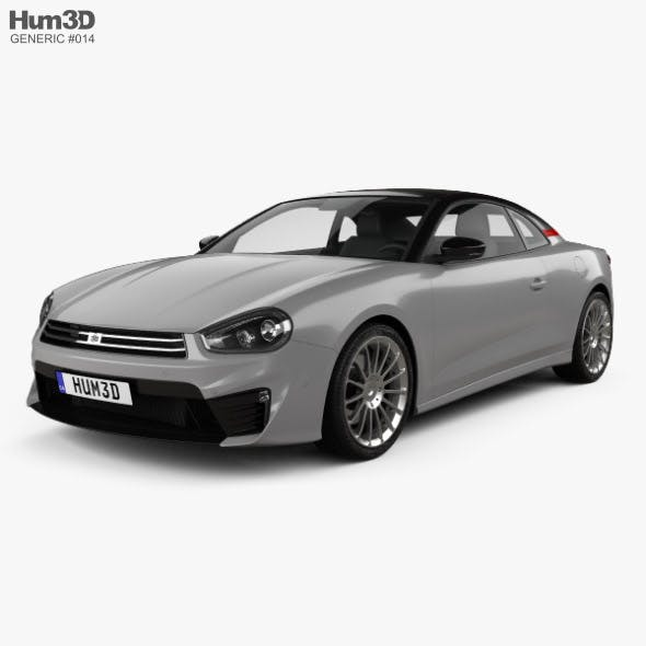 Generic coupe 2018