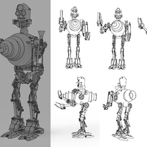 Drill Robo
