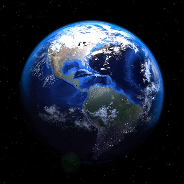Realistic earth model