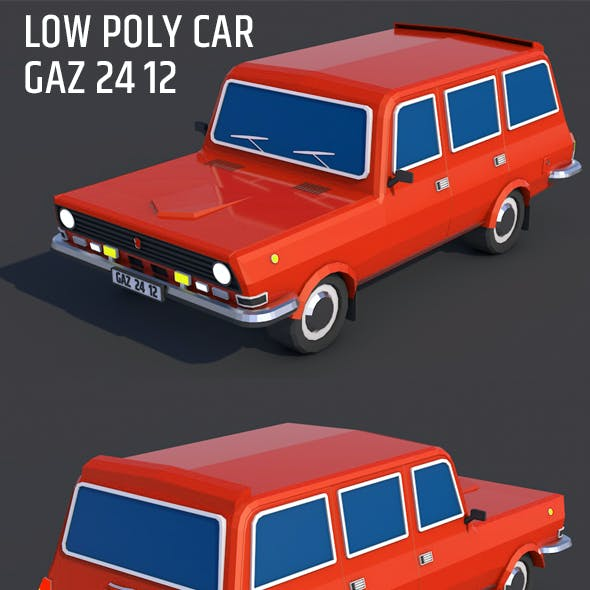 Low Poly City Car