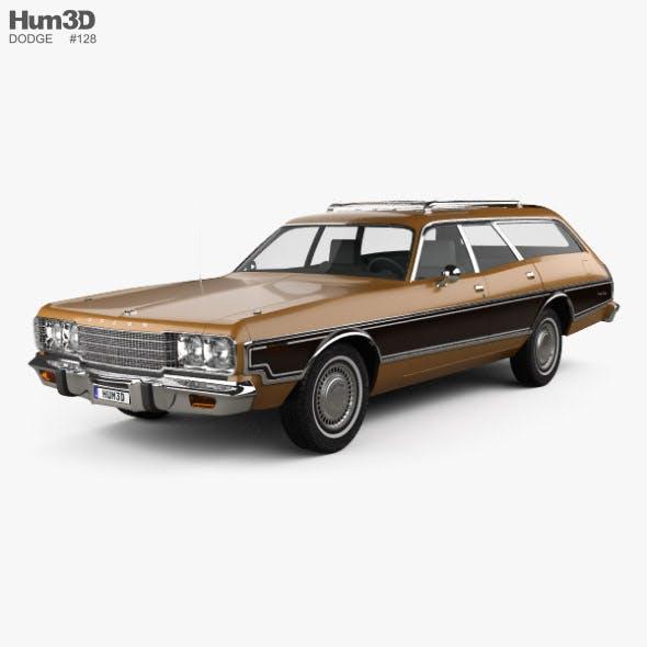 Dodge Coronet station wagon 1974