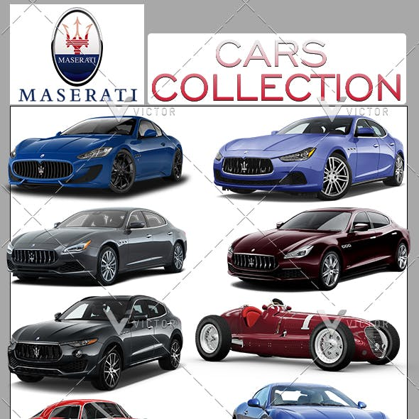 "13"" Maserati Cars Collection Pack"