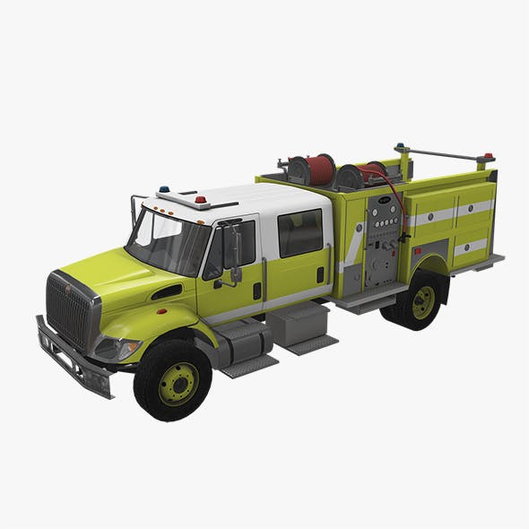 Fire Truck Yellow