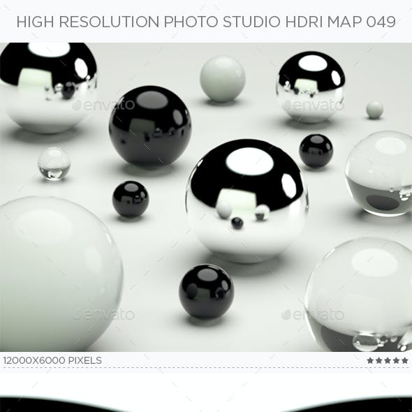 High Resolution Photo Studio HDRi Map 049