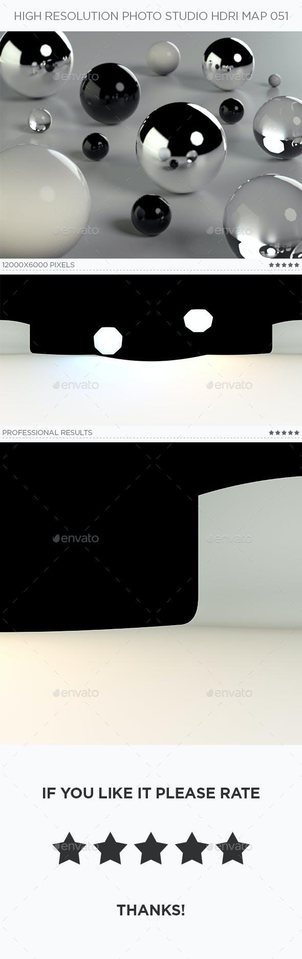 High Resolution Photo Studio HDRi Map 051 - 3DOcean Item for Sale