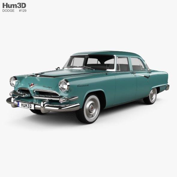 Dodge Coronet 4-door sedan 1955
