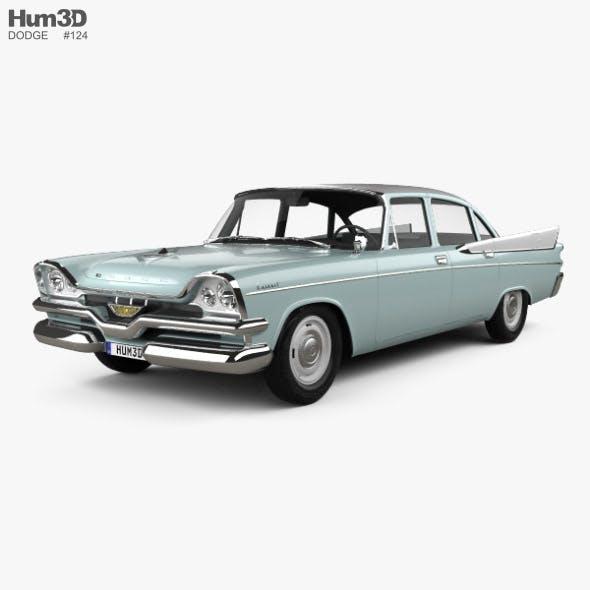 Dodge Coronet 4-door sedan 1957