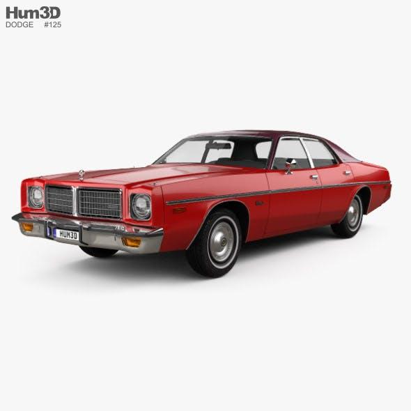 Dodge Coronet sedan 1975
