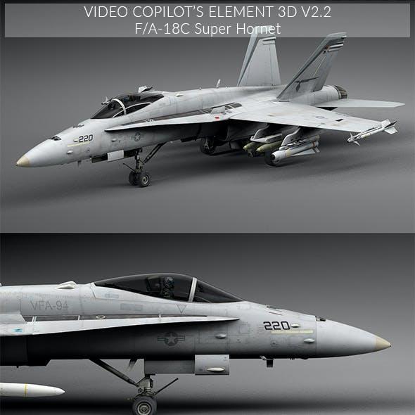 F/A - 18C Super Hoornet