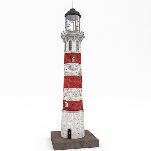 3D Lighthouse Model