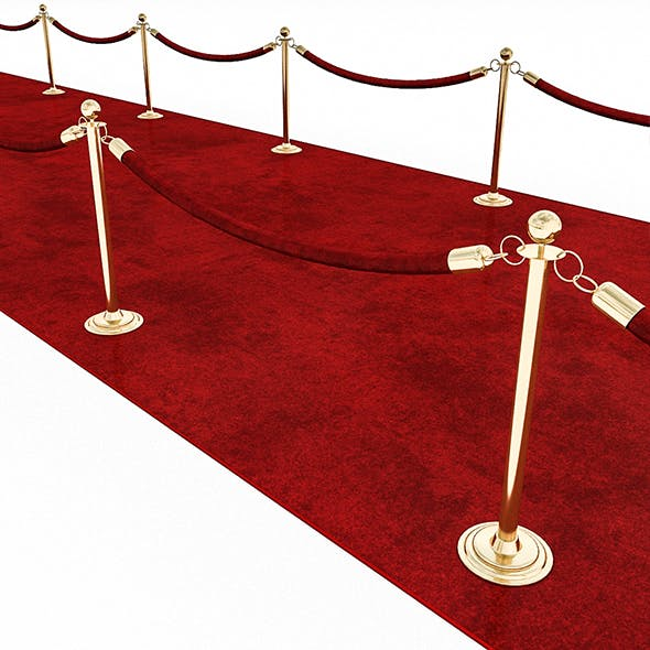 3D Red Carpet Model