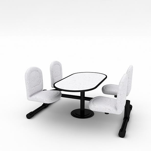 Bowling Table Chair Model