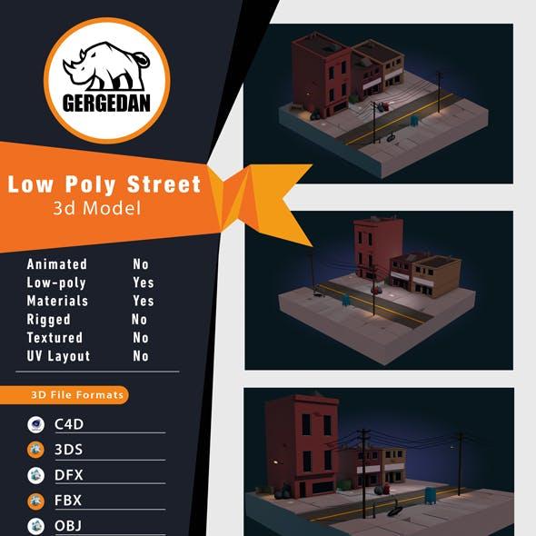 Low Poly Street