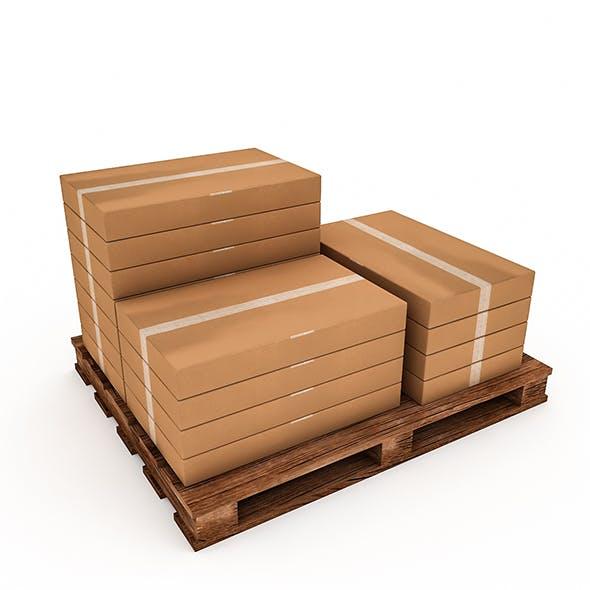 3D Warehouse Box Model 5