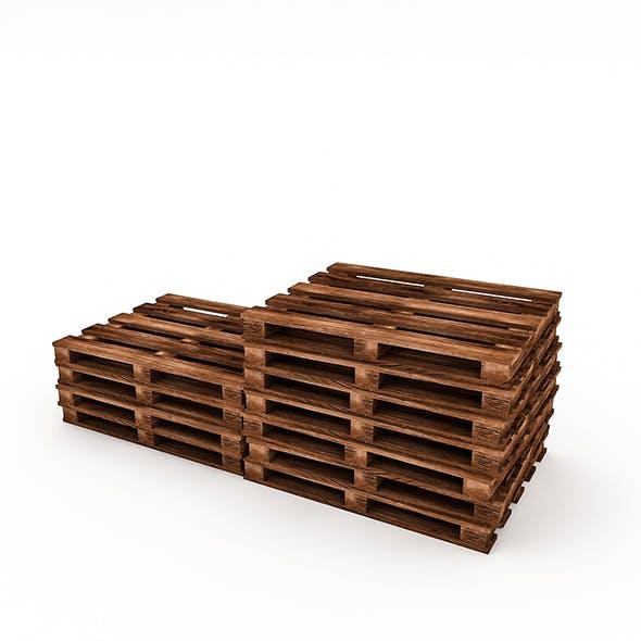 wooden pallet model