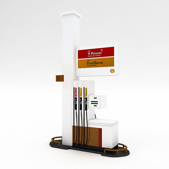 3D Gas Pump Model
