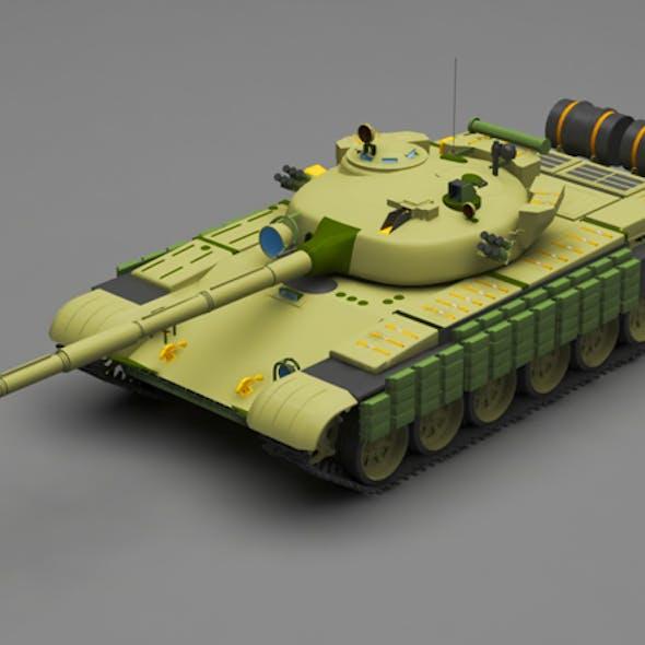 Tank T-72B