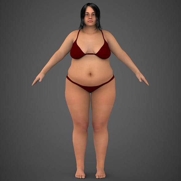 Realistic Fat Woman