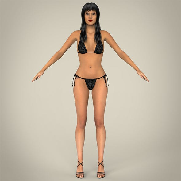 Realistic Young Sexy Female